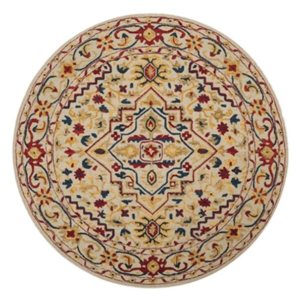 Safavieh Aspen Ivory and Multicolor Hand Tufted Area Rug