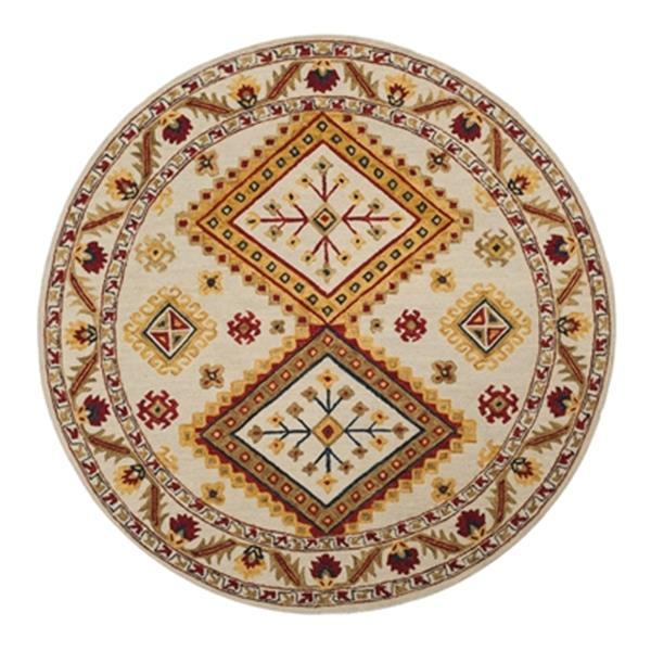 Safavieh Aspen Yellow Red and Blue Hand Tufted Area Rug