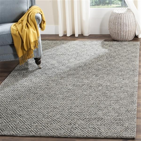 Safavieh Natura 6-ft x 9-ft Camel and Grey Hand Tufted Area Rug