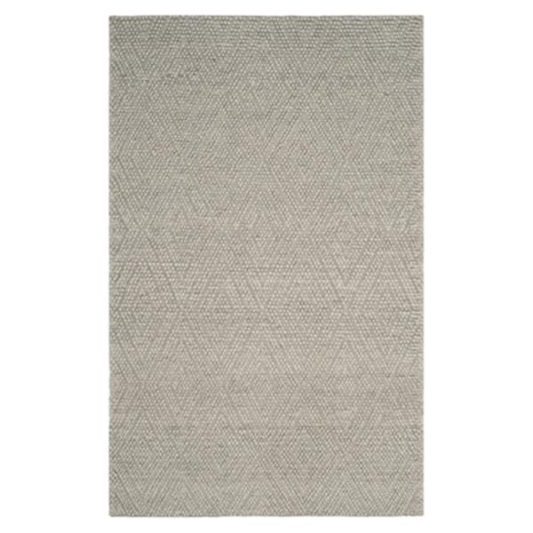 Safavieh Natura 5-ft x 8-ft Silver Hand Tufted Area Rug