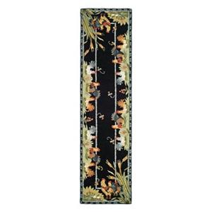 Safavieh Chelsea 30-in. Black/Multi Runner