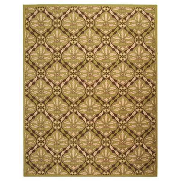 Safavieh Chelsea 5.75-ft x 3.75 Brown and Green Area Rug