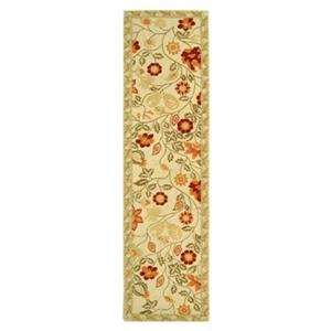 Safavieh Chelsea 30-in. Ivory/Green Runner