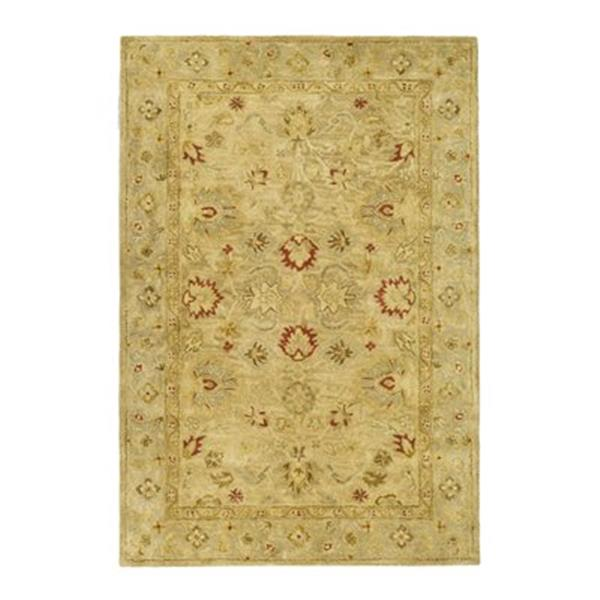 Safavieh Antiquity 6-ft x 4-ft Brown and Beige Area Rug