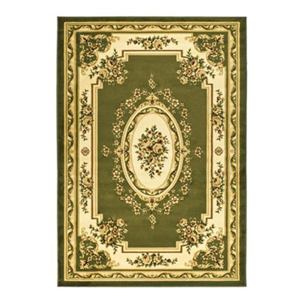 Safavieh Lyndhurst 7.5-ft x 5.25-ft Sage and Ivory Area Rug