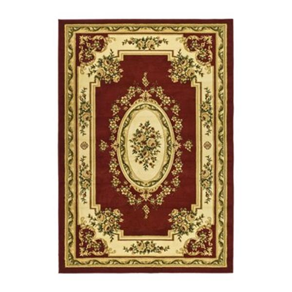 Safavieh Lyndhurst 7.5-ft x 5.25-ft Red and Ivory Area Rug