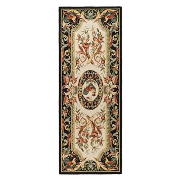 Safavieh Chelseea 30-in. Ivory/Black Runner