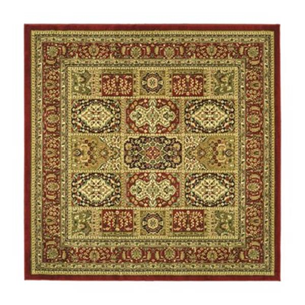 Safavieh Lyndhurst 6-ft x 6-ft Red Square Floral/Oriental Woven Area Rug