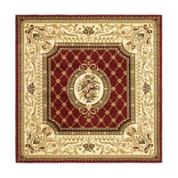 Safavieh Lyndhurst 6-ft x 6-ft Red and Ivory Area Rug