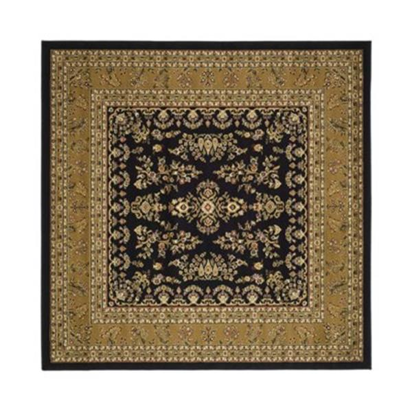 Safavieh Lyndhurst 6-ft x 6-ft Black Area Rug