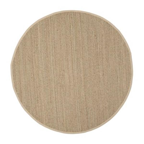 Safavieh Natural Fiber 6-ft Seagrass and Beige Area Rug
