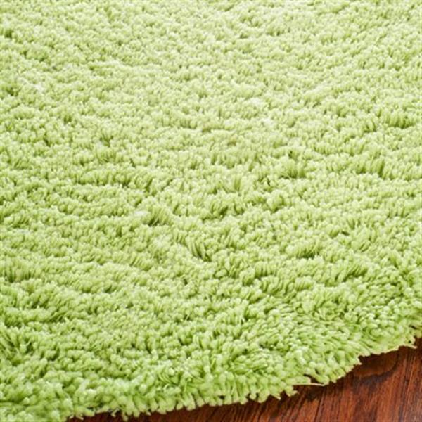 Safavieh Shag 6-ft x 4-ft Lime Area Rug