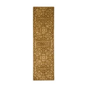 Safavieh Antiquities 27-in Light Gold/Beige Runner