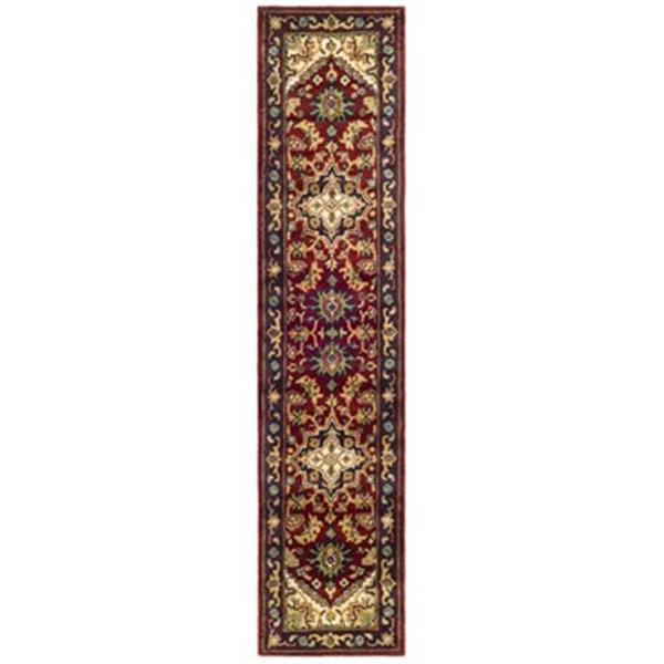 Safavieh HG625A-2 Heritage Runner, Red,HG625A-214