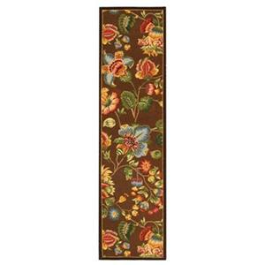 Safavieh Chelsea 30-in  Brown/Multi Colored  Runner