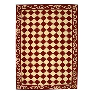 Safavieh Chelsea 30-in Burgundy/Ivory Runner