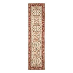 Safavieh Chelsea 30-in Ivory/Red Runner