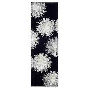 Safavieh Soho 30-in Black/White Runner
