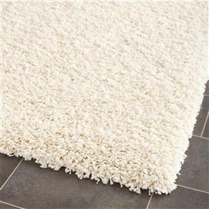 Safavieh California 27-in Ivory Shag Runner