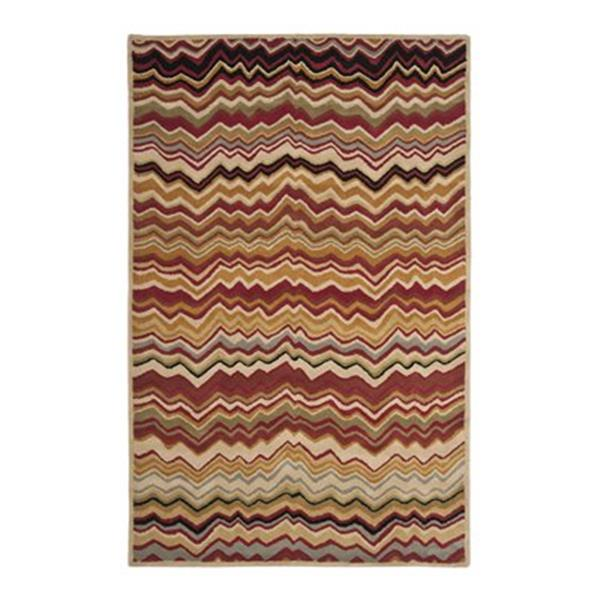 Safavieh Wyndham 9-ft x 2.25-ft Red and Multicolour Area Rug
