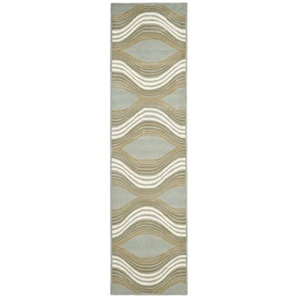 Safavieh Wyndham 9-ft x 2.25-ft Blue and Multicolour Area Rug