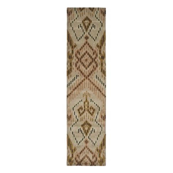 Safavieh Wyndham 9-ft x 2.25-ft Brown and Ivory Area Rug
