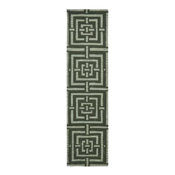 Safavieh Wyndham 9-ft x 2.25-ft Sage Area Rug