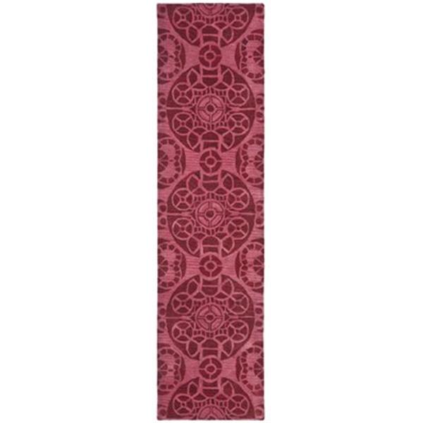 Safavieh Wyndham 9-ft x 2.25-ft Red Area Rug