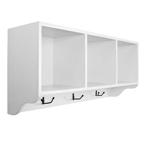 Safavieh American Home 15-in x 33.50 White Alice Wall Shelf