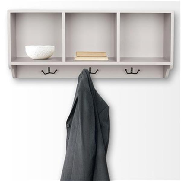 Safavieh American Home 15-in x 33-in Grey Alice Wall Shelf