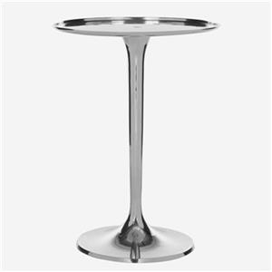 Safavieh Platina 20-in Silver End Table