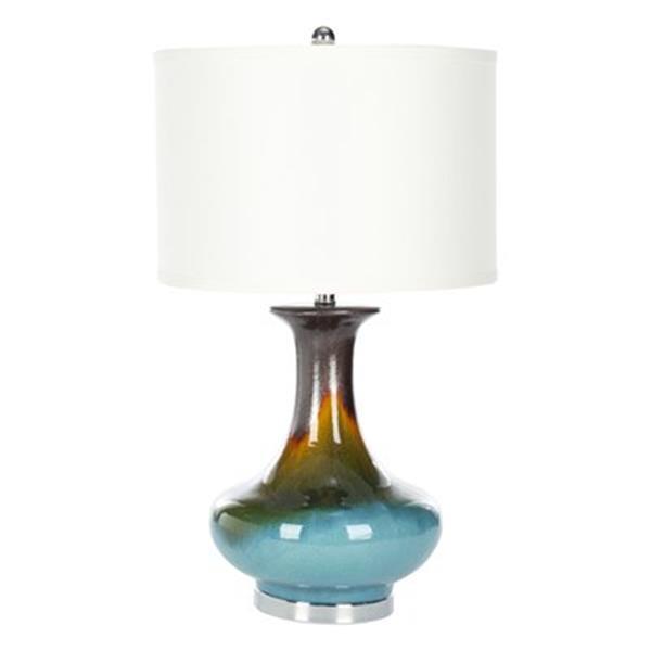 Safavieh 30-in White Georgia Table Lamp