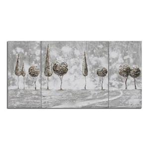 Safavieh 31.50-in x 69.90-in Grey Tree Landscape Wall Art