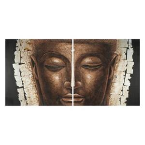 Safavieh 31.50-in x 63-in Brown Buddha Wall Art