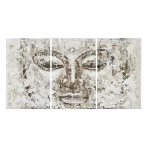 Safavieh 31.50-in x 59-in Grey Buddha Wall Art
