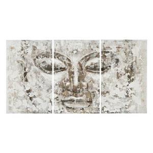 Safavieh 31.50-in x 59-in Grey Buddha Wall Art