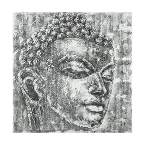 Safavieh 39.40-in x 39.40-in Grey Buddha Wall Art