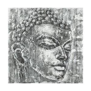 Safavieh 39.40-in x 39.40-in Grey Buddha Wall Art
