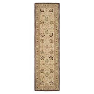 Safavieh Anatolia 27-in Ivory/Brown Runner