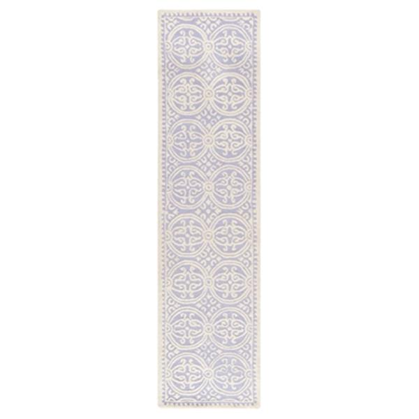 Safavieh Cambridge 30-in Lavender/Ivory Runner
