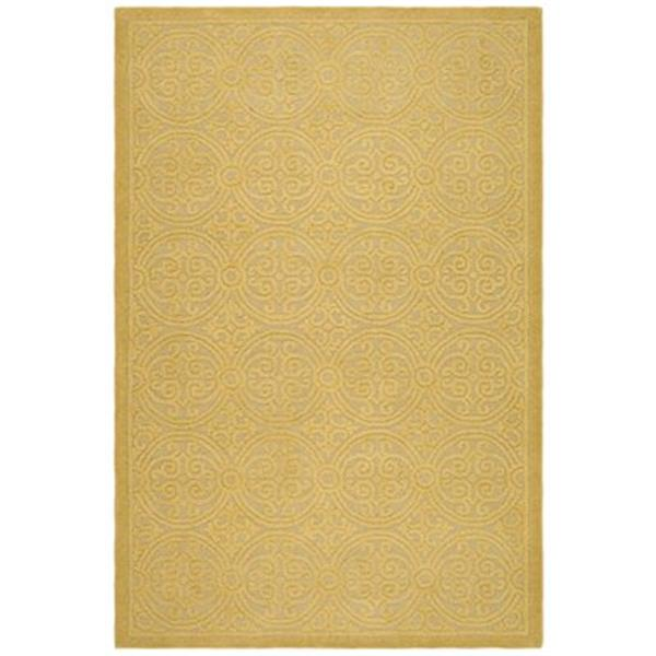 Safavieh Cambridge 6-ft x 4-ft Light Gold and Dark Gold Area Rug