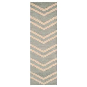 Safavieh Cambridge 30-in Grey/Beige Runner