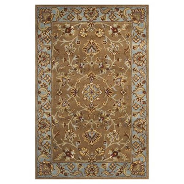 Safavieh Heritage 6-ft x 4-ft Beige and Blue Area Rug