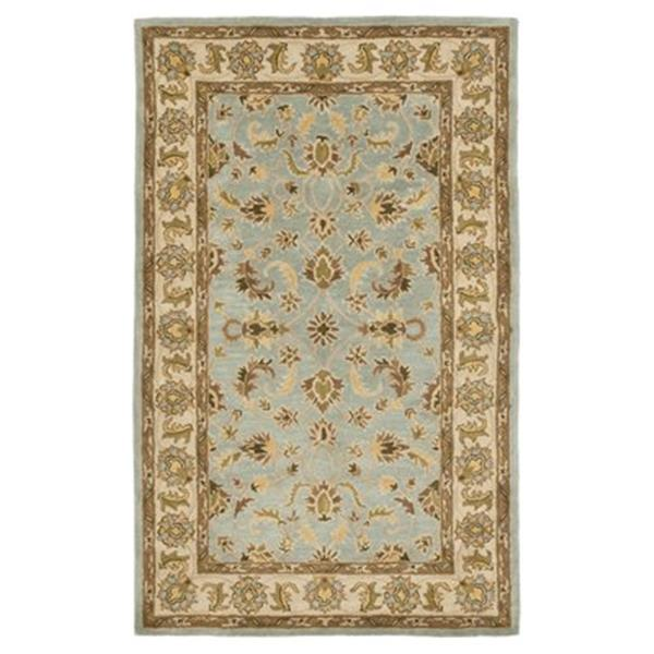 Safavieh Heritage 6-ft x 4-ft Light Blue and Beige Area Rug