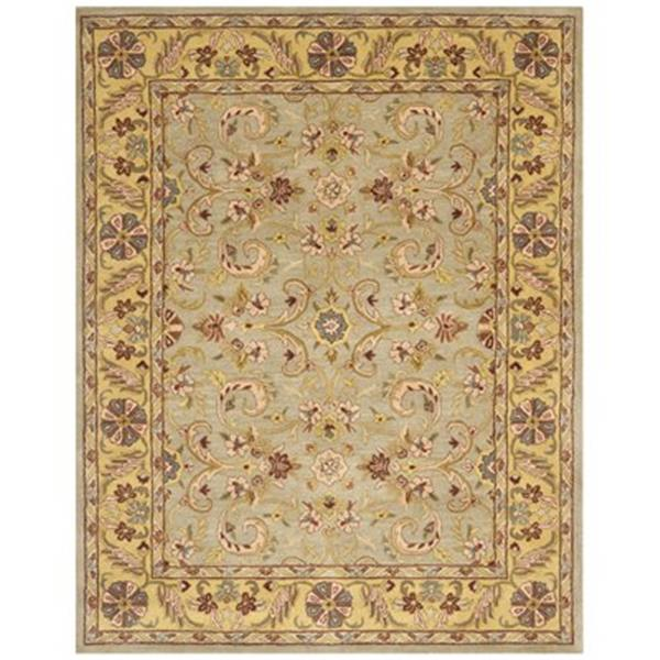 Safavieh Heritage 6-ft x 4-ft Green and Gold Area Rug
