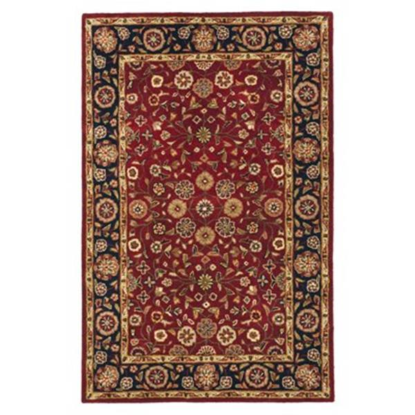 Safavieh Heritage 6-ft x 4-ft Red and Navy Area Rug