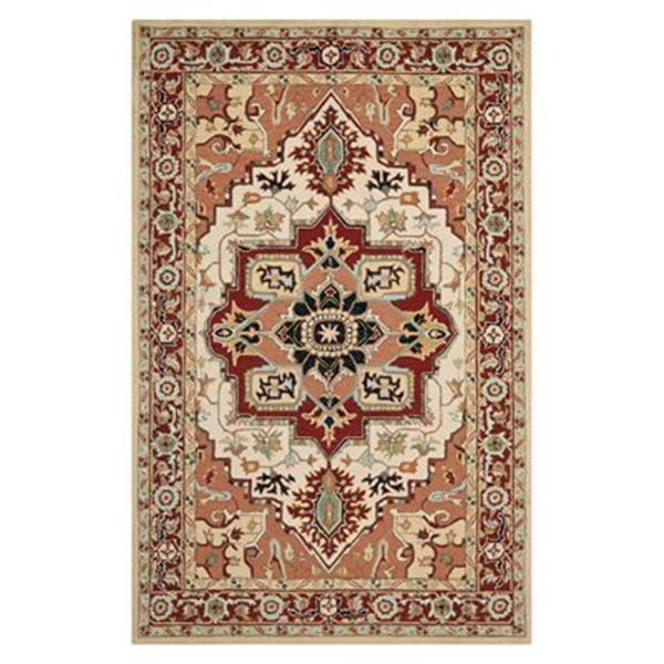 Safavieh HK709A Chelsea Red and Ivory Area Rug,HK709A-4