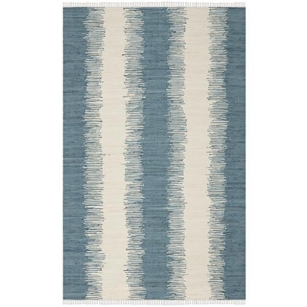 Safavieh Montauk 8-ft x 5-ft Blue Area Rug