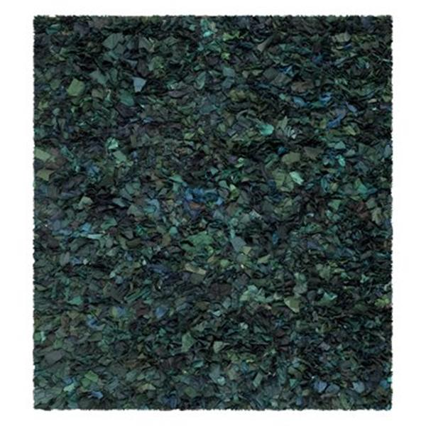 Safavieh Rio Shag 6-ft x 6-ft Green Area Rug