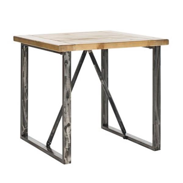 Safavieh Chase 24-in Brown/Grey End Table